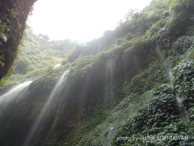 Tirai air yang sangat cantik itu ada di Madakaripura!