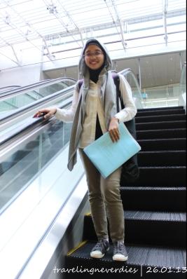 Detik-detik menuju Changi MRT (halaaahh)