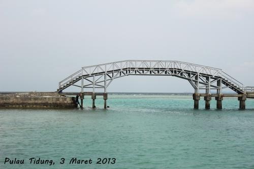 Ada yang percaya mitos jembatan cinta-nya Pulau Tidung?