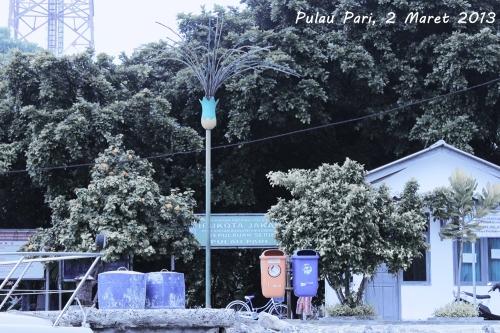 Selamat datang di Pulau Pari, Indonesia :)