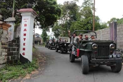 Meluncur dari Museum Gunung Merapi