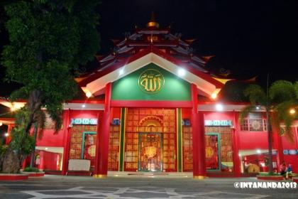Bangunan unik masjid Cheng Hoo Pandaan