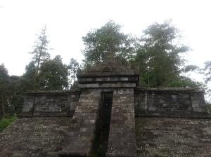 Bangunan utama Candi Cetho