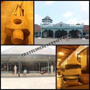 Beberapa sudut di Keraton Surakarta