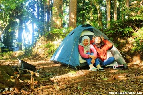 Tenda sewaan tanpa dapet matras dan sleeping bag :(