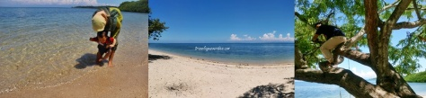 Nggak suka pantai karena panasnya nyengat banget :(